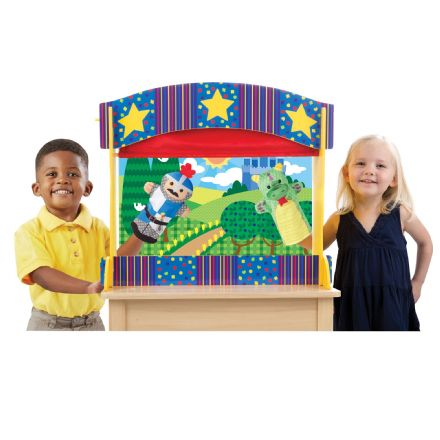 Melissa & Doug Table Top Puppet Theatre